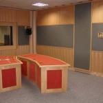Kompletní pohled na studio - ČRo Leonardo Praha