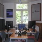 Úprava akustiky pomocí stěnových panelů - Vysílací pracoviště ČRo Brusel