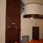 Boční akustický panel - divadlo Písek