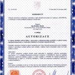 Autorizační listina