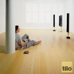 Ukázka plovoucí korkové podlahy (fa Tilo)