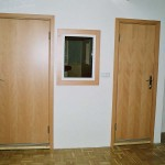 Dveře do akustických boxů - Studio 22