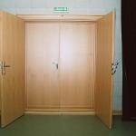 Dvoukřídlé dveře JAMU Brno